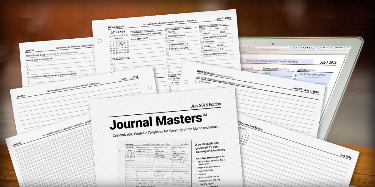 Journal Masters Layout